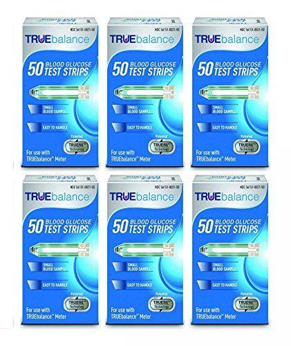 Home Diagnostics 300 Piece Truebalance Glucose Test Strips