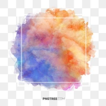 Abstract Color Pastel Frame Border Frame Pastel Square Png