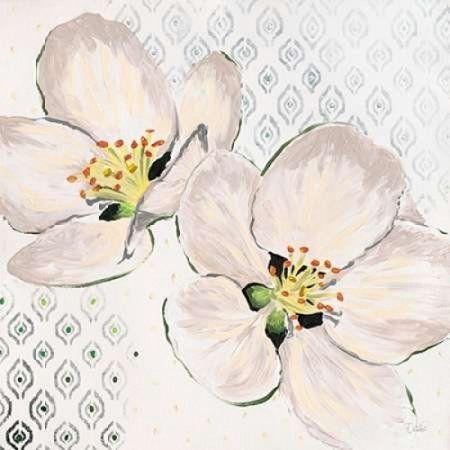 Walela R Stretched Canvas Art New Moroccan Blossom Medium 24 X 24 Inch Wall Art Decor Size Moroccandecor Art Prints Art Blossoms Art