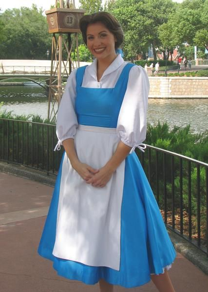 Beauty and the Beast Womens Belle Blue Dress Costume Plus Size Availab – Cosplayrr