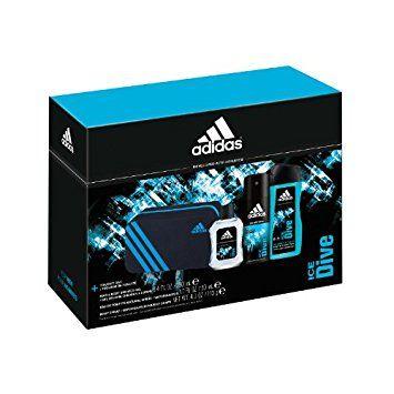 bueno mayor selección en pies imágenes de Adidas Ice Dive 3 Piece Gift Set (Shower Gel, Eau de Toilette ...