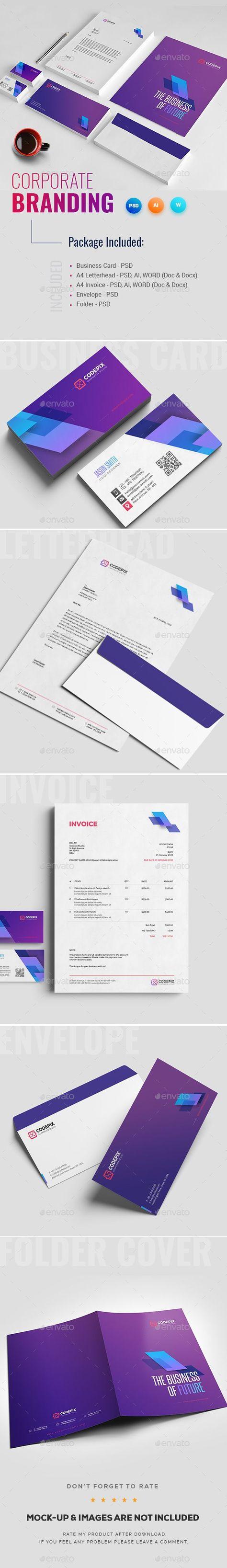 Corporate Identity Design Template PSD, AI Illustrator. Download - High resoluti... ,  #Corporate #corporateidentitywhite #design #Download #High #Identity #Illustrator #PSD #resoluti #Template