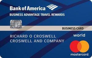 Bank Of America Business Advantage Travel Rewards Credit Card