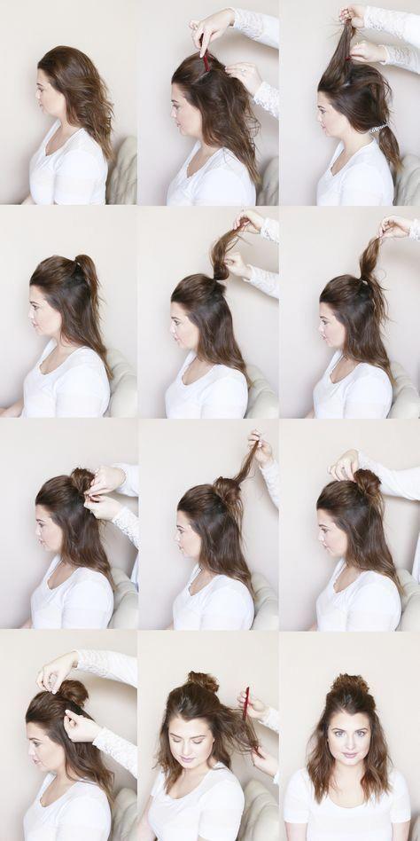 High Updo Hairstyles Easy Easyhairstylesforlonghair Party Hairstyles For Long Hair Mom Hairstyles Medium Hair Styles