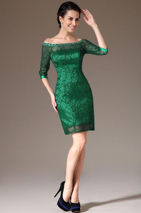 eDressit 2014 New Green Off-Shoulder Lace Mother of the Bride Dress (26145204)