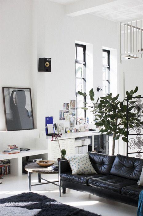 42 Best Black Sofa Decor Images