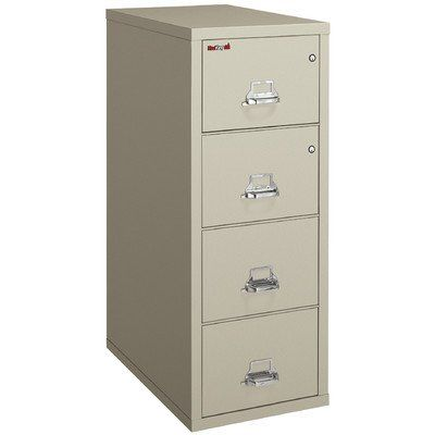 Fireproof 4drawer Legal Protection File Finish Parchment Interior Finish Parchment Amazon Most Trusted E Reta Filing Cabinet Filing Cabinet Storage Cabinet