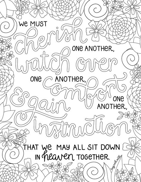 Hello, friends! This week\'s coloring page was a special request for ...