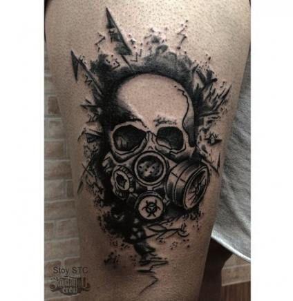 Tattoo antebrazo hombre