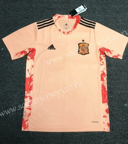 2020 2021 Spain Pink Thailand Training Soccer Jersey Aaa 407 Soccer Jersey Soccer Training Retro Shirts