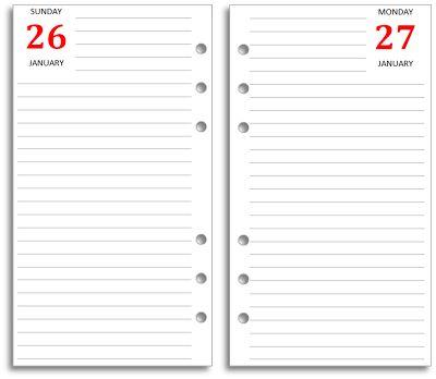one day calendar - Josemulinohouse