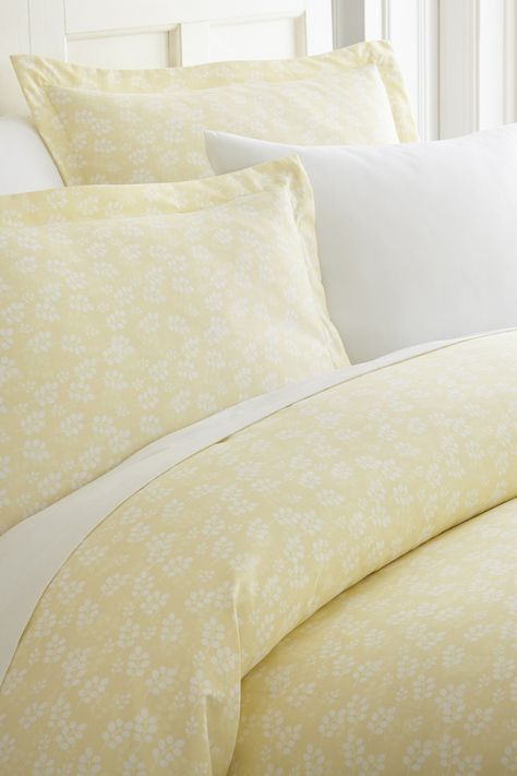 The Home Collection Premium Ultra Soft Wheat Pattern 4 Piece Bed Sheet Set