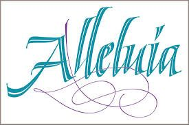Calligraphy Hallelujah Google Search Church Banners