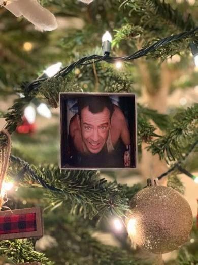 Die Hard Ornament Christmas Tree Ornaments Christmas Ornaments