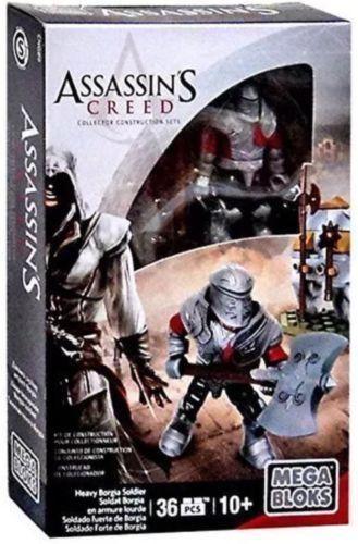 Heavy Borgia Soldier Assassin/'s Creed Mega Bloks Construction Set