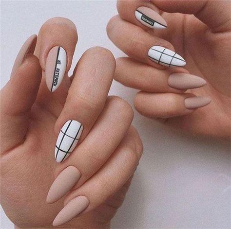 Chic Summer Matte Acrylic Nails Designs To Copy - Nail Art Connect#acrylicnails#mattenails#coffinnails