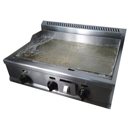 Commercial Stainless Steel Countertop Natural Gas Griddle 31 Inch