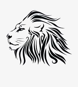 Hand Painted Black Lion Lion Clipart Hand Painted Lion Png Transparent Clipart Image And Psd File For Free Download Tribal Lion Lion Tattoo Meaning Lion Tattoo