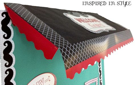 Create a bulletin board awning in 4 steps