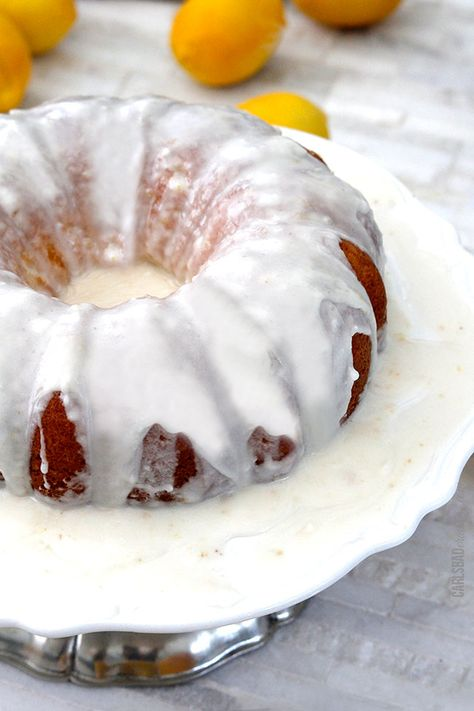 Hot Lemon Poke Cake- I'm gonna make it!!!