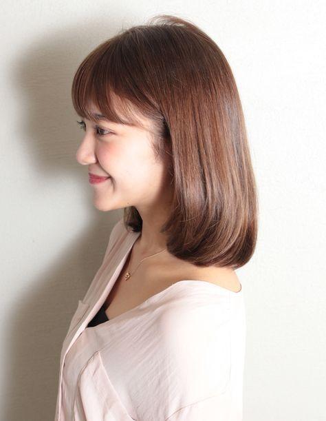 吉岡里帆さん風ミディアムボブ Sg 356 ヘアカタログ 髪型 ヘア