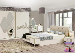 احدث كتالوج صور غرف نوم 2021 Bedroom Designs Bed Furniture Design Bedroom Bed Design Bedroom Furniture Design