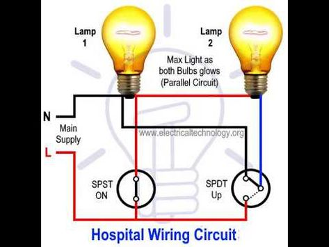 Light Density Of Lamps Control Circuit Using Switches For Hospital Light Dimmer Switch For Light Control Hospital Switches Light Dimmer Switch Light Control