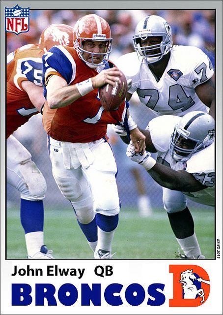1994 Denver Broncos throwback uniform (NFL 75th anniversary)