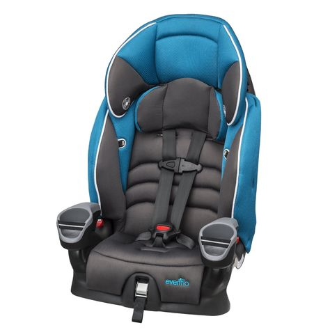 Evenflo Maestro Booster Car Seat Thunder Promoting A Proper Fit The