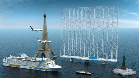 Wind Catching Systems designs giant floating wind farm with 117 turbines