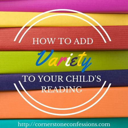 How to Add Variety to Your Child's Reading (Free Printables)