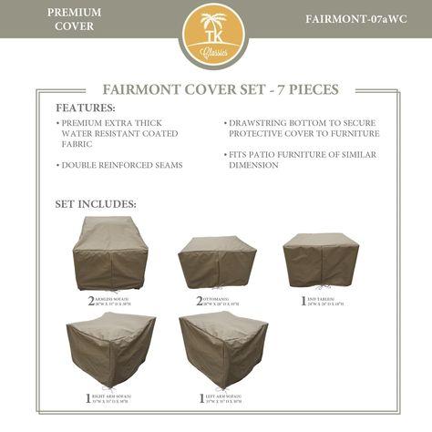 Fairmont 07a Protective Cover Set Tie