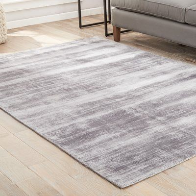 Latitude Run Sara Handloomed Gray Area Rug Grey Area Rug Area Rugs Light Grey Area Rug