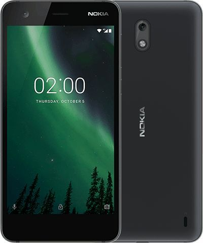 bb8bfbd10 Clean, clutter-free Android: The Nokia 2 is smaller and follows the similar  design and shape as its older siblings. The new Nokia 2 with 2-day battery  life.