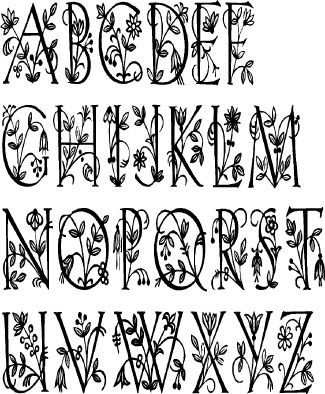 fancy letter templates