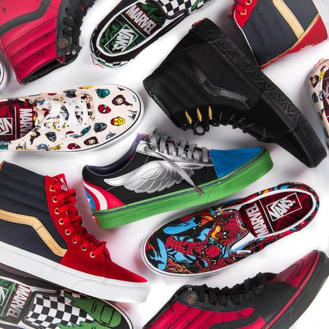 2b59897e5ab The Vans x Marvel collection is here! The two brands connect for an insane  collection