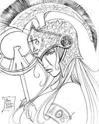 Athena by SilentQueen on DeviantArt