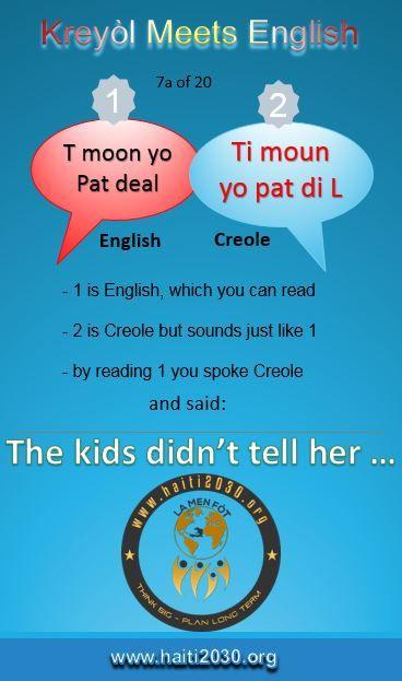Cheri In Creole : cheri, creole, Kreyòl, Meets, English, Haitian, Creole,, Language, Study