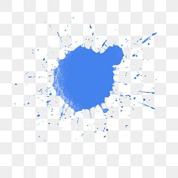 Ink Blue Splash Effect Ink Drop Free Buckle Ink Blue Splash Png Transparent Clipart Image And Psd File For Free Download Splash Effect Blue Ink Clip Art Borders