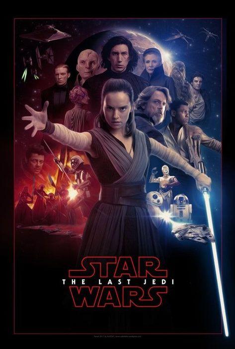 Star Wars: The Last Jedi - Poster Fanart by AUGEN²