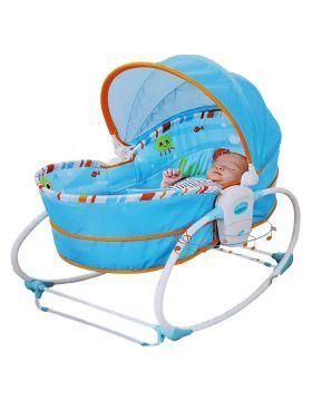 شراء كرسي روكر نابر الهزاز للمواليد من ماركة تيني لاف لون فيروزي أونلاين سبري الإمارات Baby Rocker Rocking Bassinet Baby Bassinet
