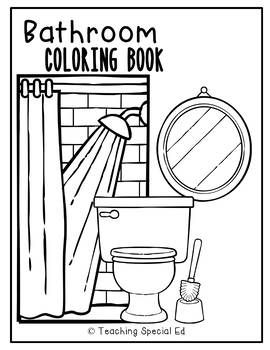 Bathroom Coloring Book Worksheets Coloring Books Worksheets Color Worksheets