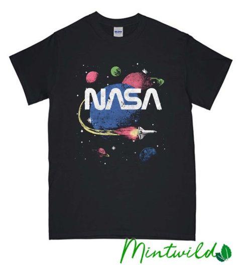 NASA Space Journey Wild T Shirt #clothes #fashion #shirt#women#casual#comfort