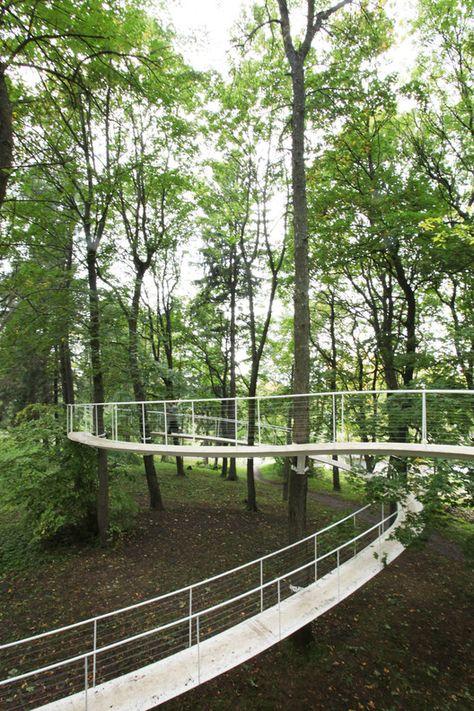 A Path in the Forest / Transsolar & Tetsuo Kondo Architects
