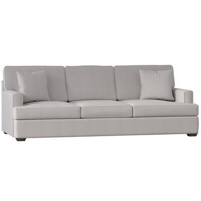 Wayfair Custom Upholstery Avery Sofa Body Fabric Curious Silver