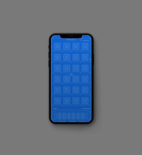Grid And Blueprint Wallpapers For Iphone In 2019 Iphone