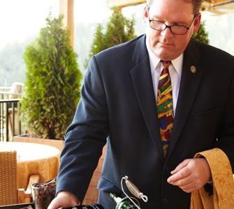100 Best Wine Restaurants 2012 – Restaurant at Auberge du Soleil in Rutherford, CA
