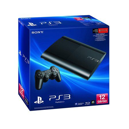 Refurbished Sony Computer Entertainment Playstation 3 12gb System Walmart Com Playstation Playstation 3 Super Slim Sony