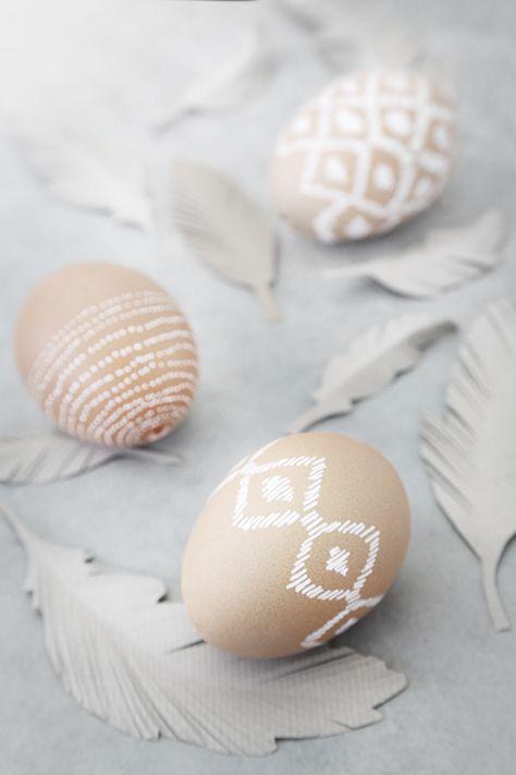 Ikat Easter Eggs ❥