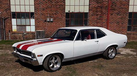 1972 Chevrolet Nova 327 CI, Vintage Air presented as lot at Houston, TX 2015 -